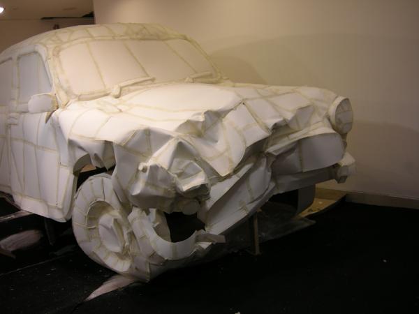 Destrucción en Auto Ambassador